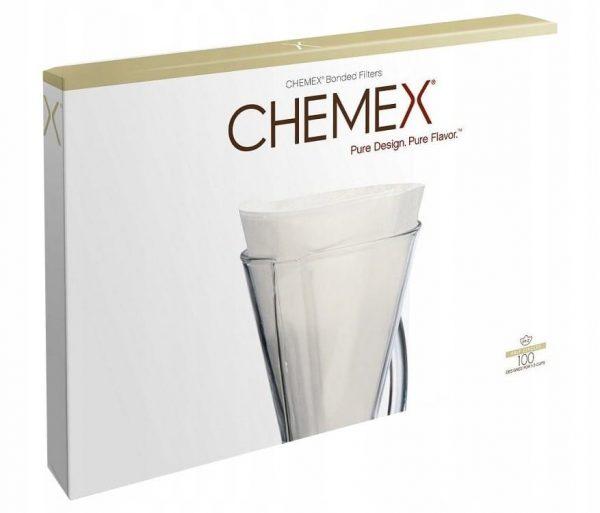 Chemex filtry papierowe, białe- 3 filiżanki