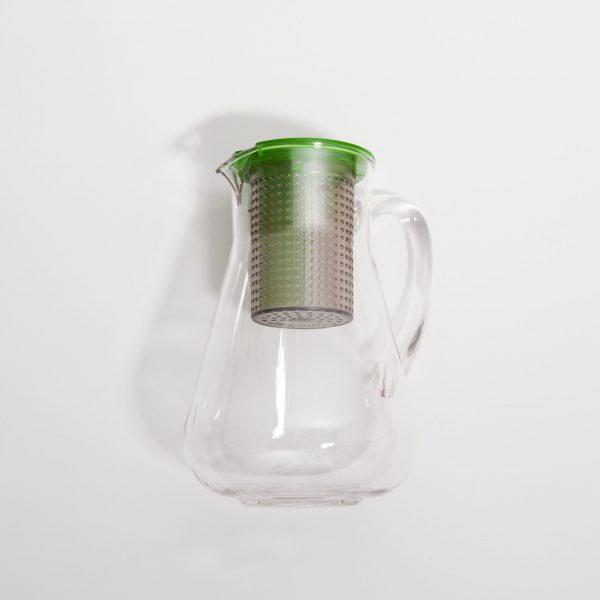 Finum Dzbanek z zaparzaczem Ice Tea Control 1,8 l zielony