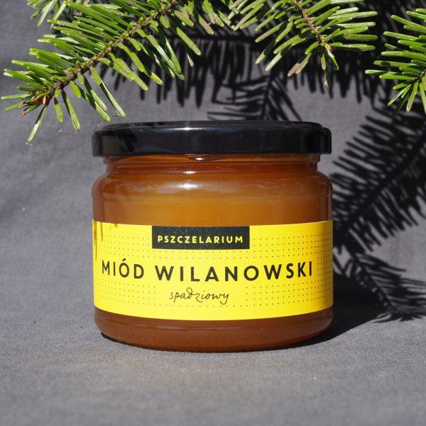 Miód Wilanowski spadziowy 0,42 kg