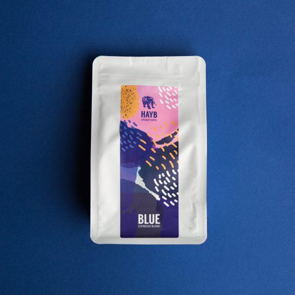 HAYB Blue espresso blend 500g mielona