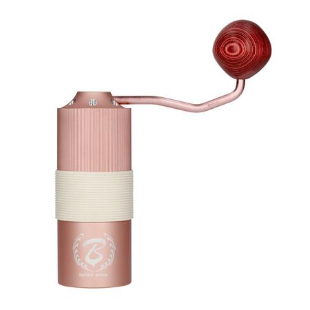 Barista Space – Młynek ręczny różowy