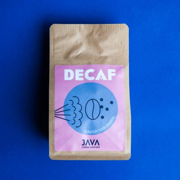 Java Kolumbia Cauca bezkofeinowa 250g