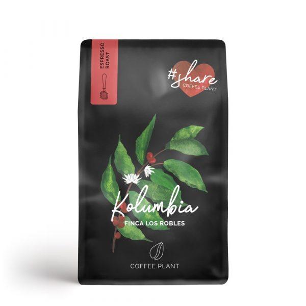 Coffee Plant Kolumbia Finca Los Robles 250g