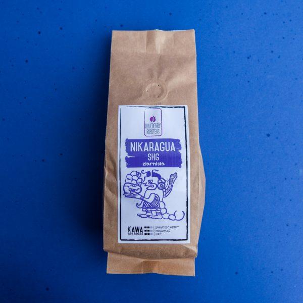 Blueberry Roasters Kawa ziarnista Nikaragua SHG 250 g