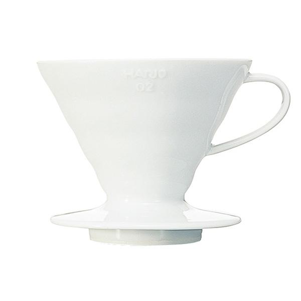 Hario ceramiczny Drip V60-02 Biały