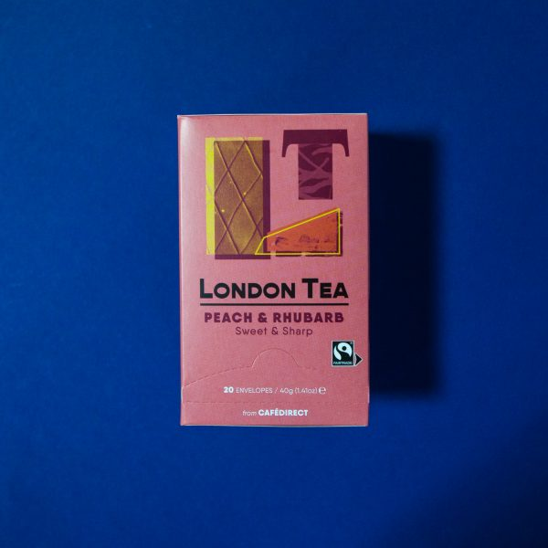 Herbata The London Tea Company Brzoskwinia I Rabarbar