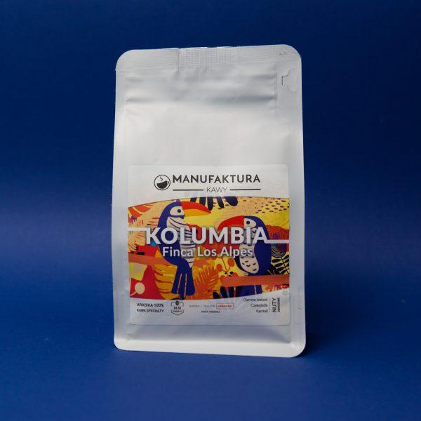 Manufaktura Kawy Kolumbia Finca Los Alpes Leżakowana 250g