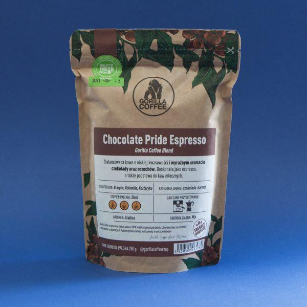 Gorilla Coffee Chocolate Pride Espresso 250g