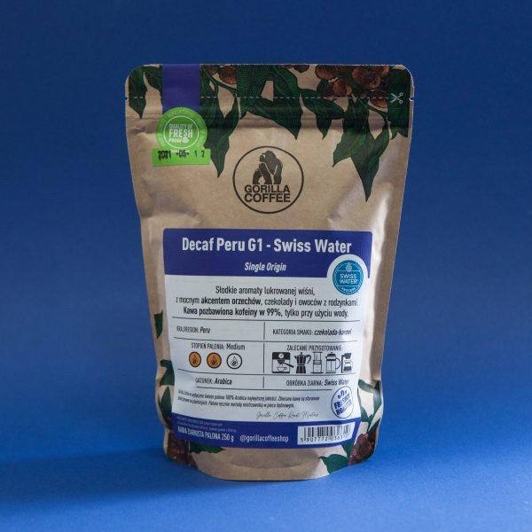 Gorilla Coffee Deacf Peru G1 250g