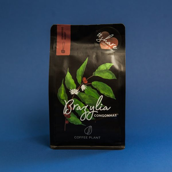 Coffee Plant Brazylia Congonhas 250g